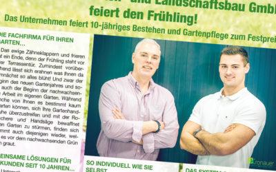 Die Kronauer Garten- und Landschaftsbau GmbH feiert den Frühling!